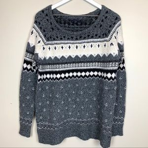 American Eagle | Boatneck Chunky Knit Sweater